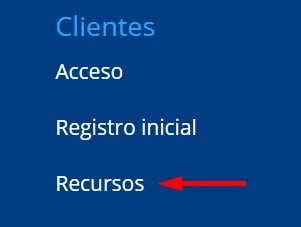 acceso a recurso cliente